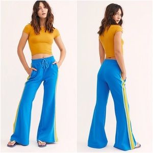 NWT Free People She's A Rainbow Flare Sweatpants